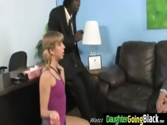 young daughter with nice booty screwed by a dark