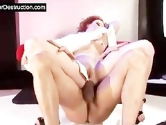 daughter face hole and ass destruction