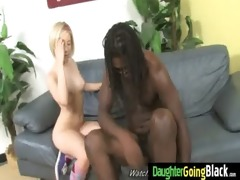 black cock and a diminutive chick 23
