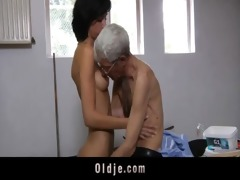 avid old man fucks anal excited dark brown legal