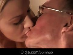 two old cocks double penetrates cherrys nurse