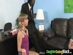 youthful daughter with nice ass fucked by a