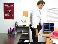 obscene school checkup