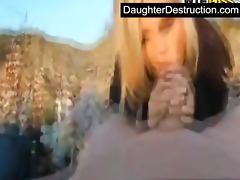 young daughter humiliation