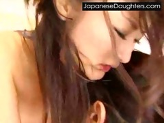 cute japanese japanese daughter brutally screwed