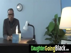 watching my daughter going black 3