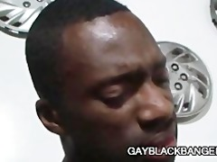 black stud hot boi fucking a tight white arse