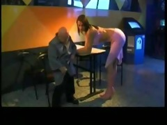 midget oldman fucking hot blonde