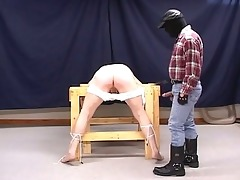sexually excited pig dad torturing horny g