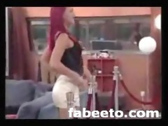 2008 german large brother striptease live on tv
