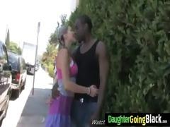 juvenile white gals butt jiggles on dark weenie 7