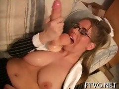 angel plays with sextoy