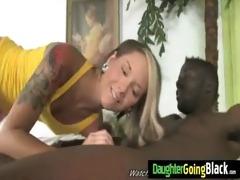 juvenile white girls ass jiggles on darksome wang