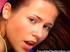youthful hotty monsterfucked in her face hole and