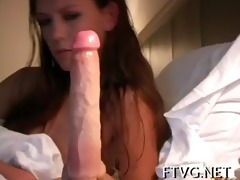 wet crack of babe is fisted