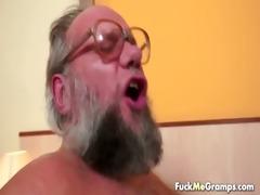 lucky old bastard bangs enchanting gal