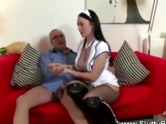 horny hardcore fucking with young babe