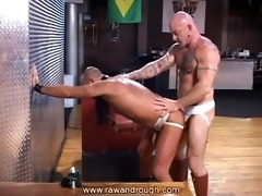 aaron acquires flogged and jake receives drilled