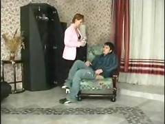 gave a russian mother and her throat fucked her