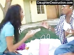 juvenile daughter abused