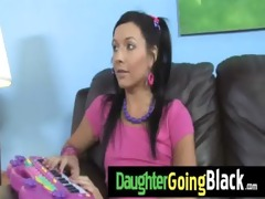 daughter fuck a massive darksome jock 3
