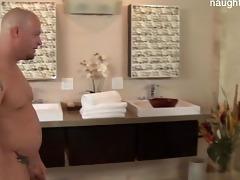 brutal dad astounding fuck