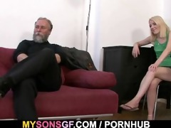 she is receives punished and rides his cock