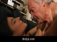 grandpapa fucking horny juvenile sweety
