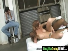 juvenile daughter with fine ass drilled by a dark