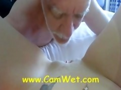 daddy girl being licked