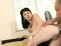 my wife caught me assfucking her mother #03