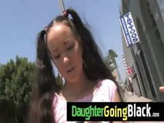 watch how my daughter is drilled by a darksome