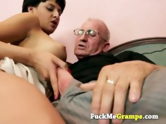 the old dude can teach her