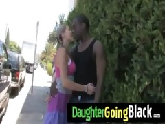 see how my daughter is screwed by a black guy 10