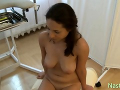 old chubby gynecologist fucks constricted czech