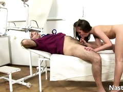 horny old gynecologist
