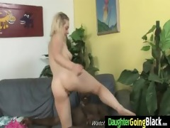 young daughter acquires pounded by big black cock