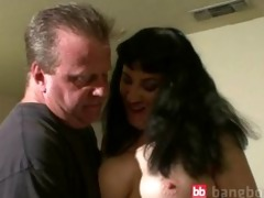 horny mother blowing wang