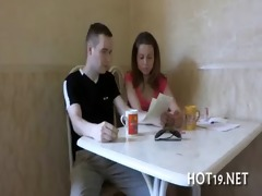 legal age teenager deep mouth oral job