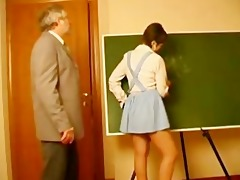 teacher abased german schoolgirl in uniform