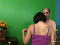 grandpa fucks a skinny doxy with petite tits