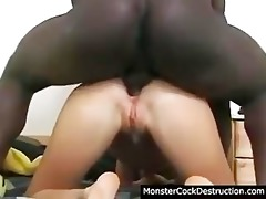 cute daugher violated hard in her mouth and ass
