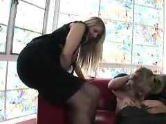 mother teaching daughter how to engulf ramrod #04