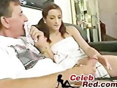 daddy receives caught sniffing panties by